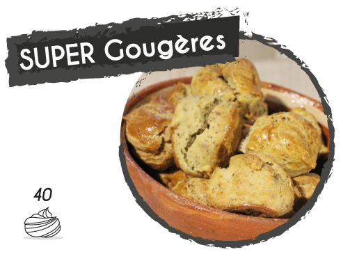 SUPER GOugères BIODYNE