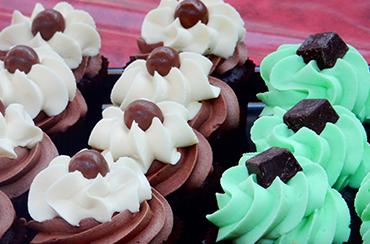 Cupcakes Pistache Chocolat - SUPER Mix Goûter