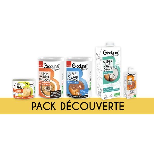 Pack DÉCOUVERTE