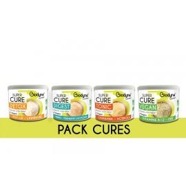 Lot de 4 cures