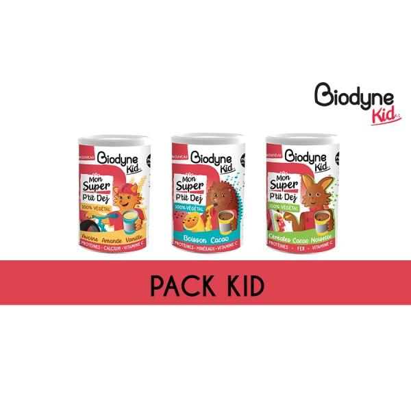 Pack KID - 3 super petits déjeuners
