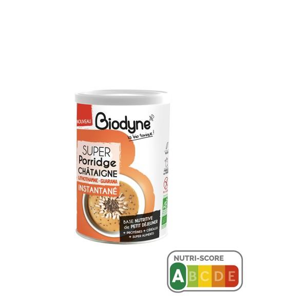 SUPER Porridge CHATAIGNE Biodyne