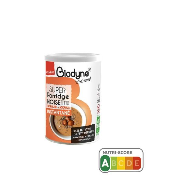 SUPER Porridge NOISETTE Biodyne